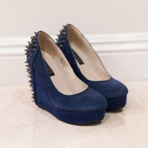 Deena & Ozzy Spiked Wedges
